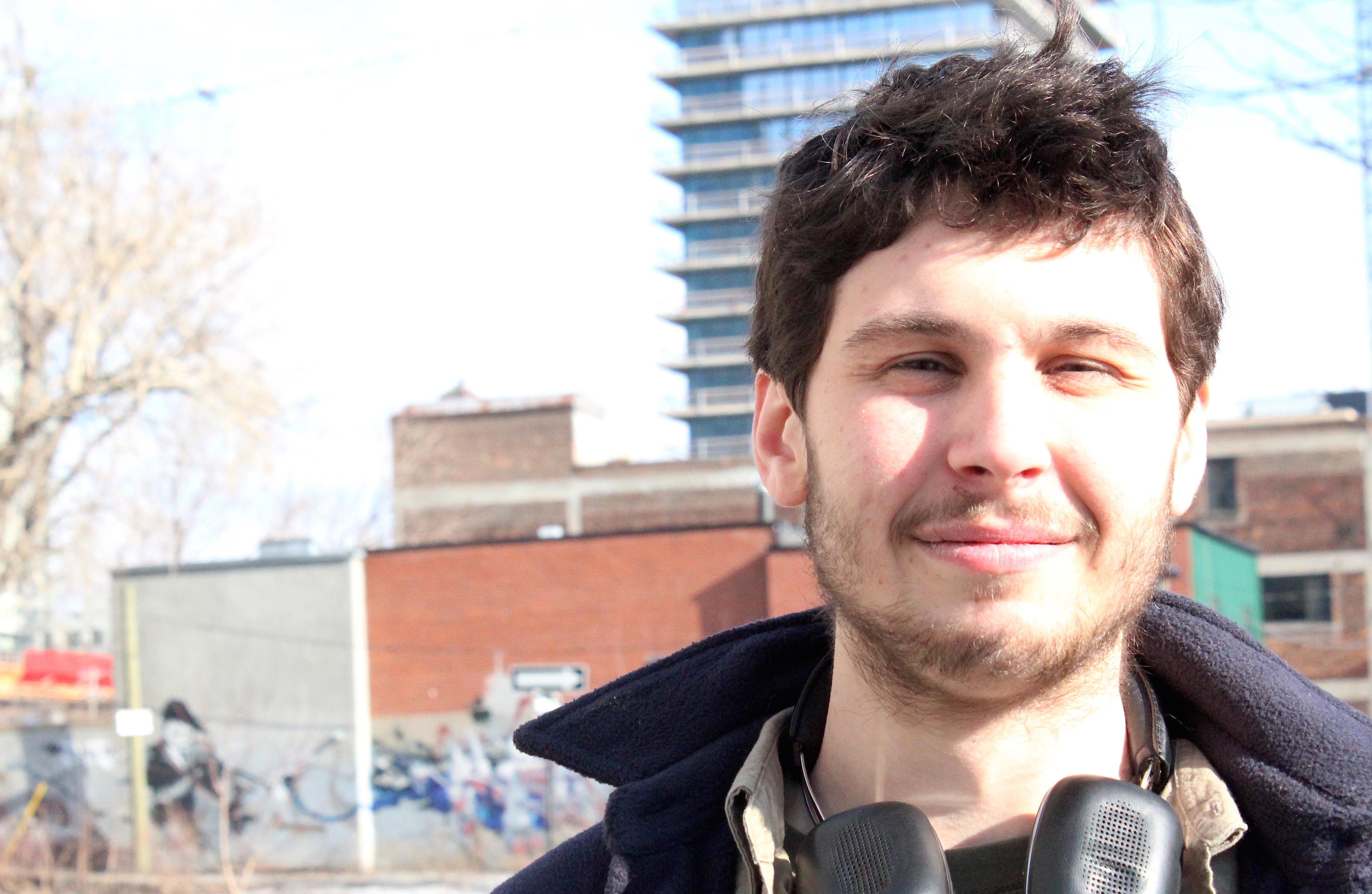 François Auclair, est animateur à échoFab, poste 235