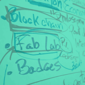 Image texte blockchain