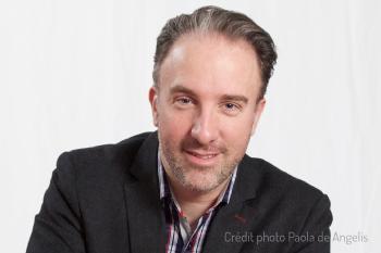 Geoffroi Garon-Épaule, vice-président de Communautique, est entrepreneur (@pygnum) et chercheur doctorant (@lcauqam) sur les compétences, les usages et les badges numériques (#openbadges).