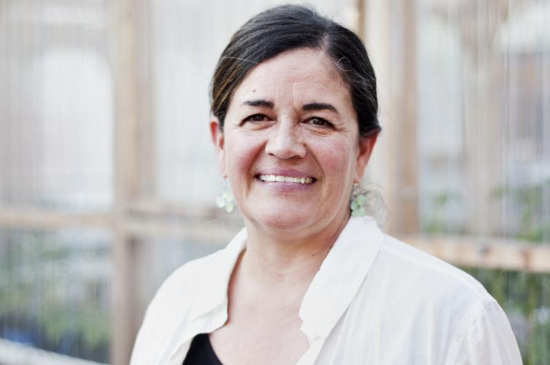 Raquel PEÑALOSA, présidente de Communautique, architecte du paysage, consultante Design participatif.