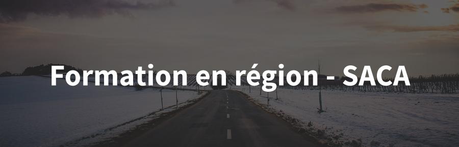 Formation en région