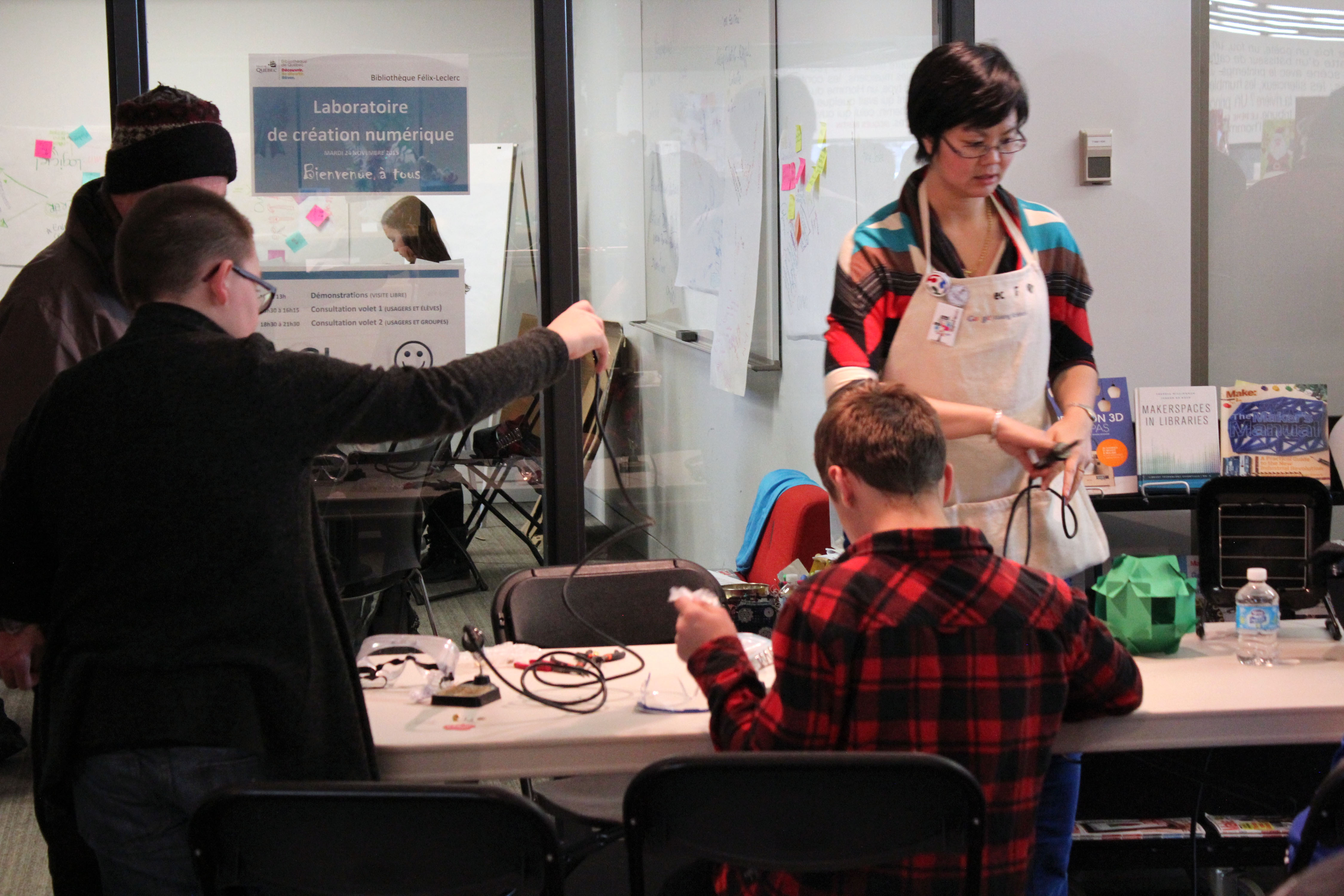 P34 IMG 3138 copie - Démarche de codesign des usages et processus d'implantation de Fab Lab, de Médialab et de makerspace, dans les institutions culturelles québécoises