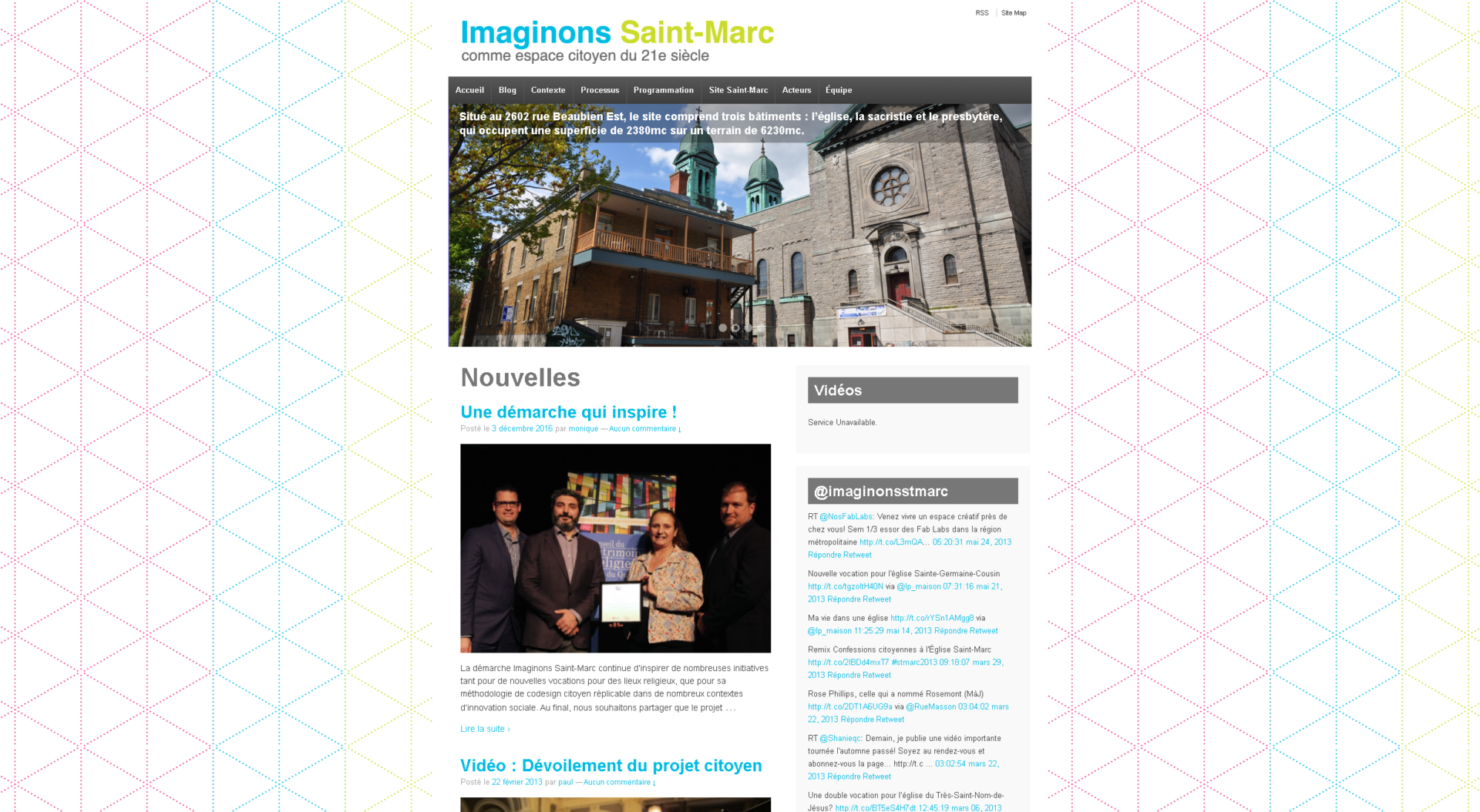 site web imaginons st marc