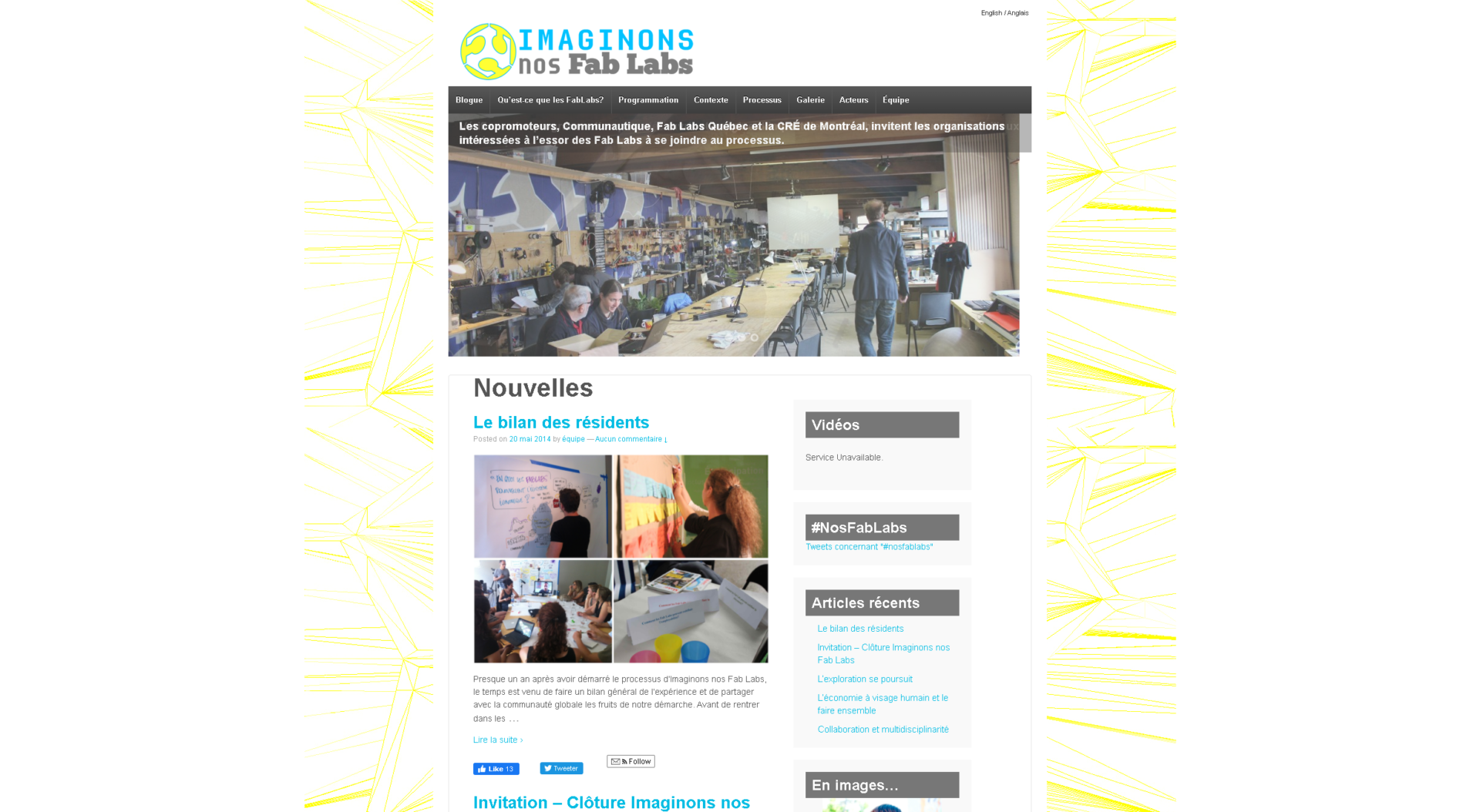 site web imaginons nos fab labs