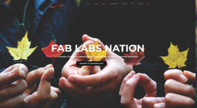 site web fab lab nation