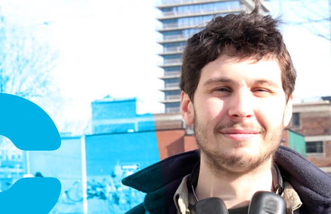 François Auclair, médiateur en Fab Lab et instructeur au Fab Academy, poste 235